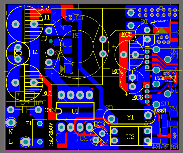 5V3.4A DK124 双USB方案