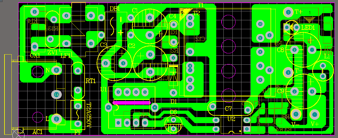 DK125  12V2A 适配器 方案