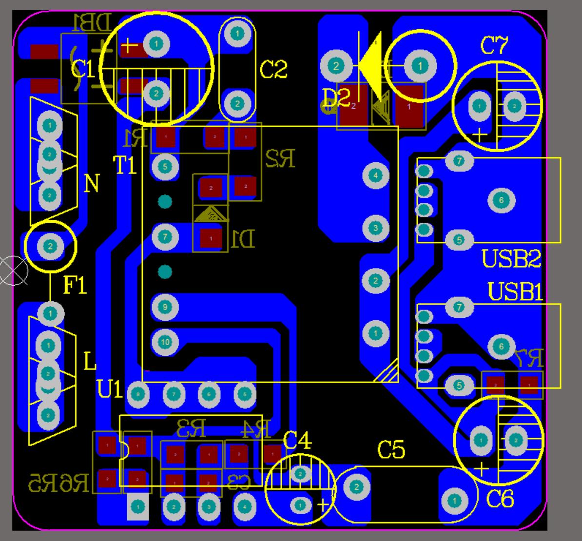 5V2A DK912 双USB非标 限流方案