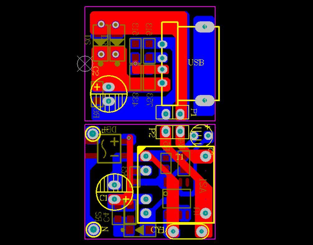 DK935  5V1A 小绿点非标充电方案