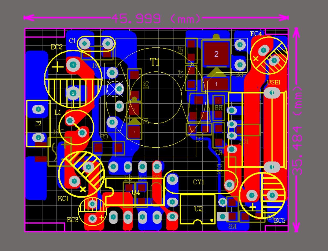 DK1208 5V2.4A 方案展示